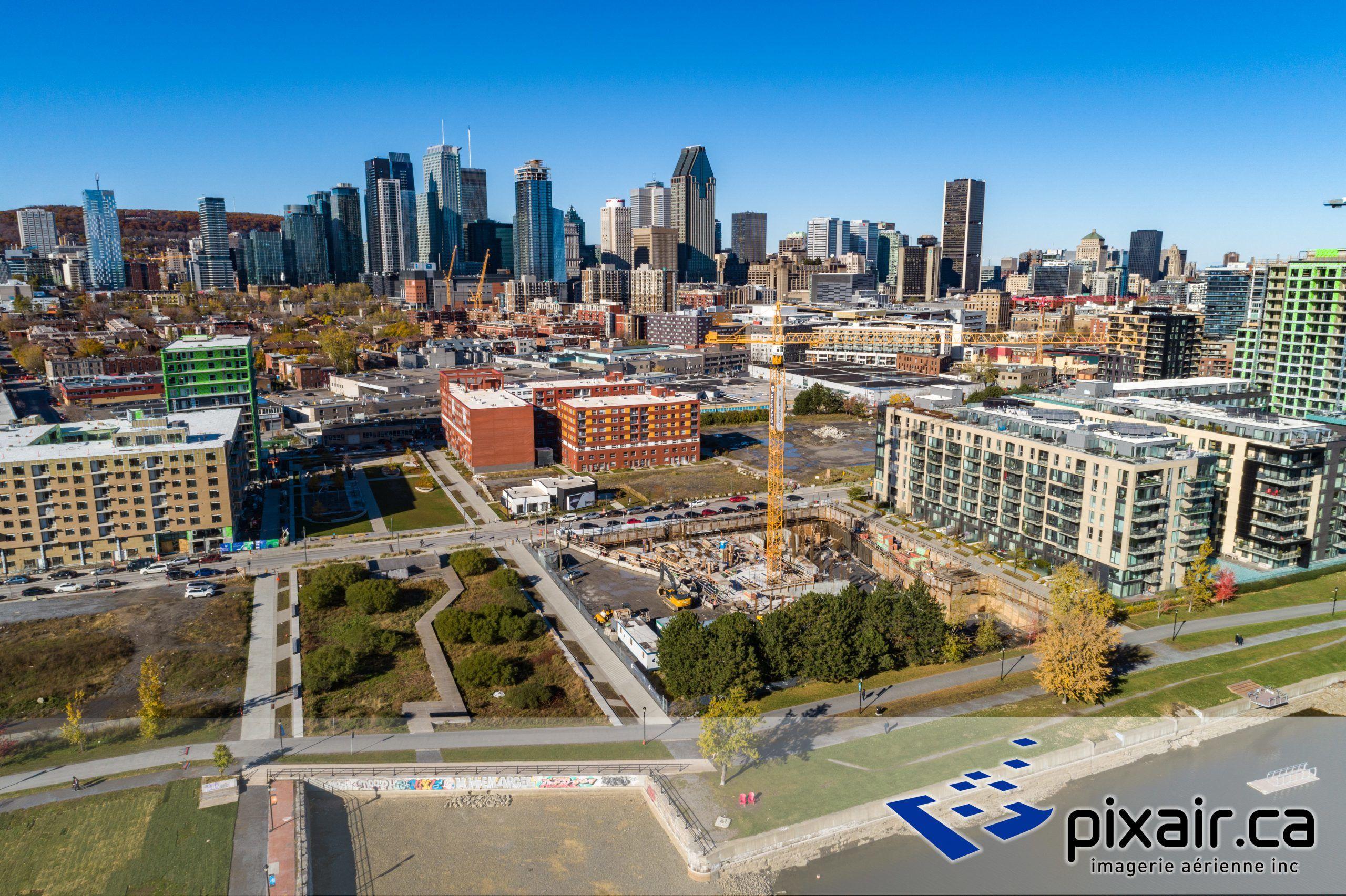 Photo aérienne drone - Montréal