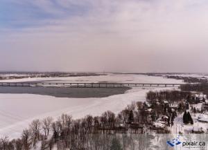 Vidéo aérienne Valleyfield